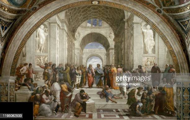 The School of Athens ca 15101511 Private Collection Artist Raphael