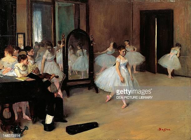 The School of Dance by Edgar Degas 197 x27 cm New York The Metropolitan Museum Of Art