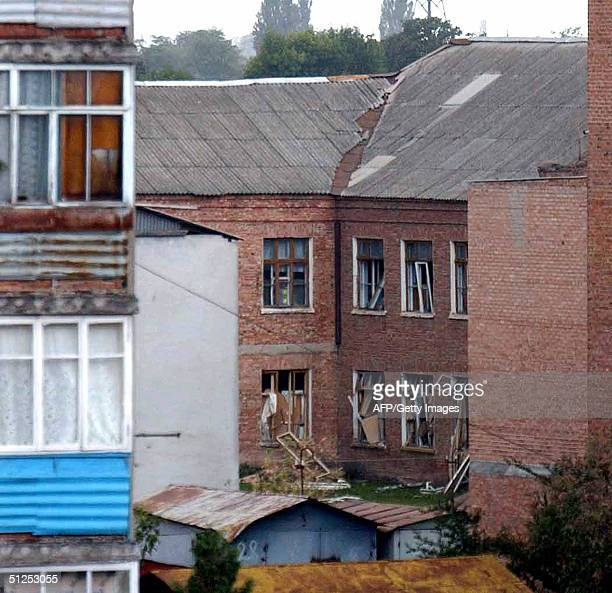 The school where a group of gunmen wearing belts laden with explosives are holding hostage some 240 people hostage in the northern Ossetian village...