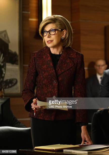 The Schtup List Episode 103 Episodic coverage of THE GOOD FIGHT Pictured Christine Baranski as Diane Lockhart