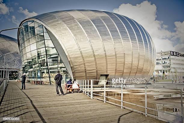 The Science Centre, Glasgow, Scotland.