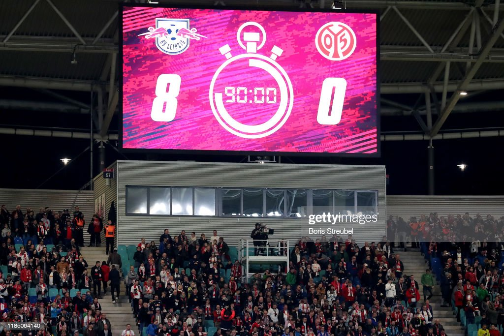 RB Leipzig v 1. FSV Mainz 05 - Bundesliga : News Photo