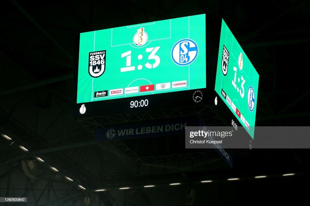 SSV Ulm 1846 Fußball v FC Schalke 04 - DFB Cup: Second Round : News Photo