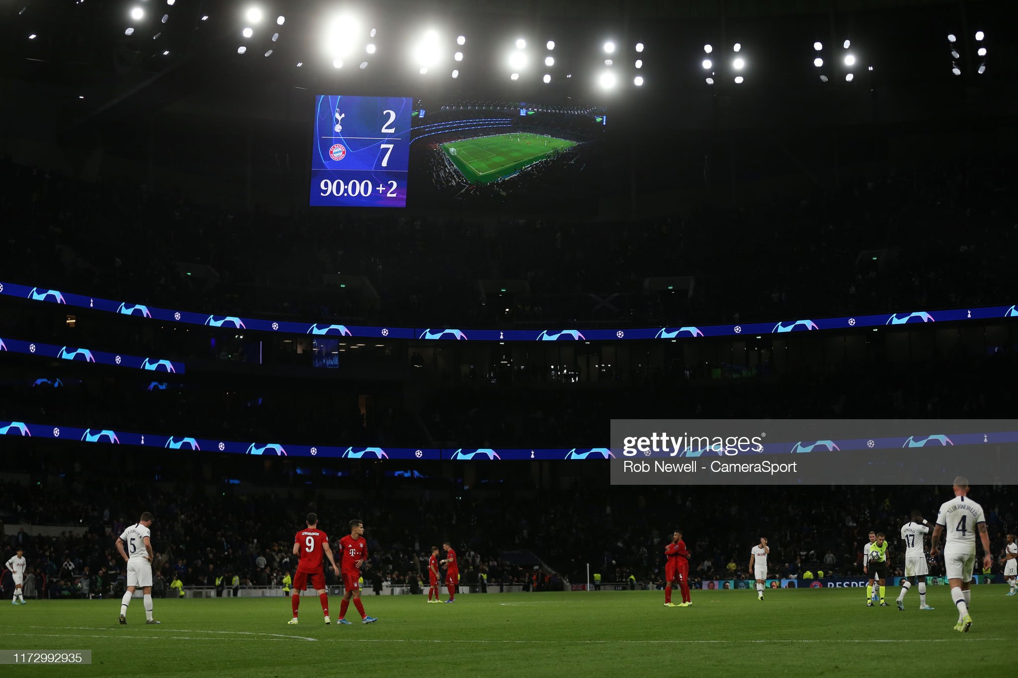 Brilliant Bayern batter Spurs, as Brugge pick up a draw in Madrid
