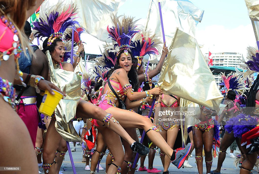 TORONTO, ON - AUGUST 3 - The Scotiabank Caribbean Carnival