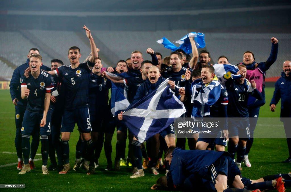 Serbia v Scotland - UEFA EURO 2020 Play-Off Finals : News Photo