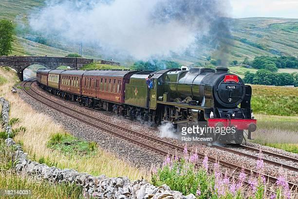 CONTENT] The Scots Guardsman on the Settle to Carlisle RailwayAisgill summitMallerstangNorth YorkshireUK