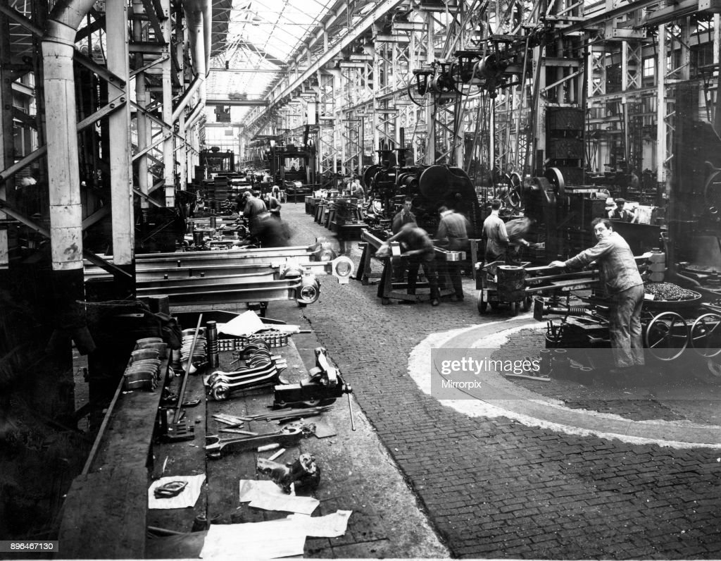 Wg Ltd the scotswood works armstrong whitworth co pictures getty images