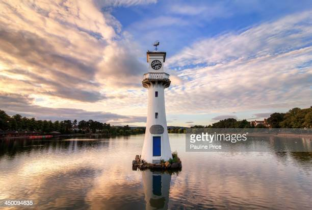 The Scott Memorial Clock Tower at Roath Park in Cardiff, Wales Captain Scott's expedition to the Antarctic departed from Roath Dock aboard the ship...