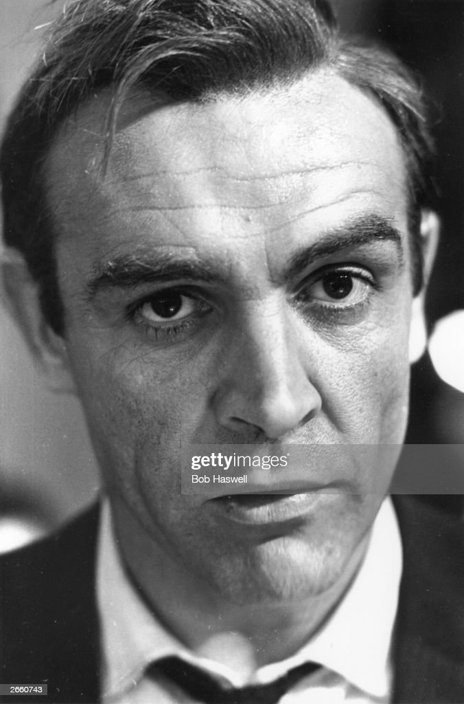 The Scottish actor Sean Connery as James Bond in the film 'Goldfinger', directed by Guy Hamilton.