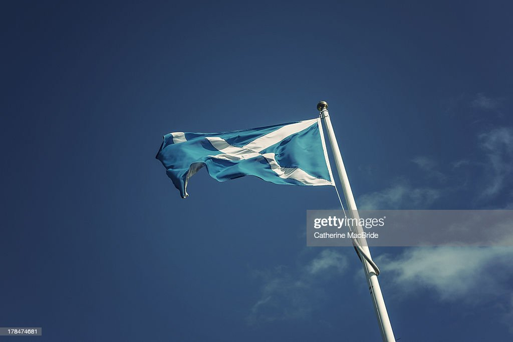 The Scottish Blues : Stock Photo