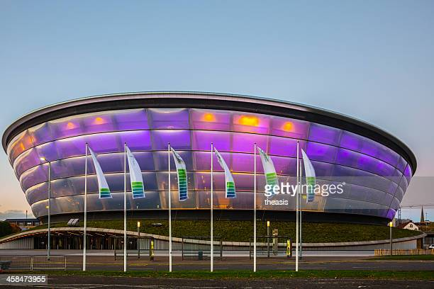 lo scottish hydro arena, glasgow - theasis foto e immagini stock