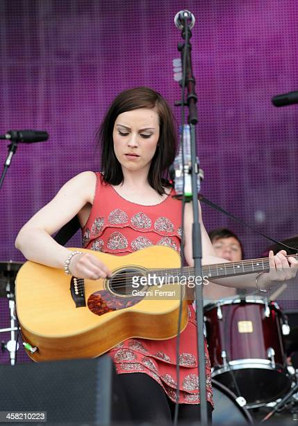 The Scottish singer Amy Macdonald during a concert at 'Roch in Rio' 5th June 2010 Arganda del Duero Madrid Spain