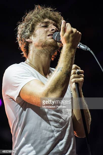 The Scottish singer Paolo Nutini during the concert Caustic Love Tour Piazza Castello Ferrara 17th July 2015