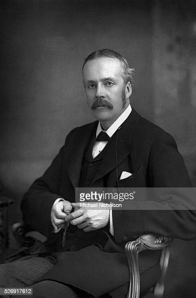 The Scottish statesman and philosopher Arthur James Balfour the 1st Earl of Balfour was an active politician responsible for the Balfour Declaration...