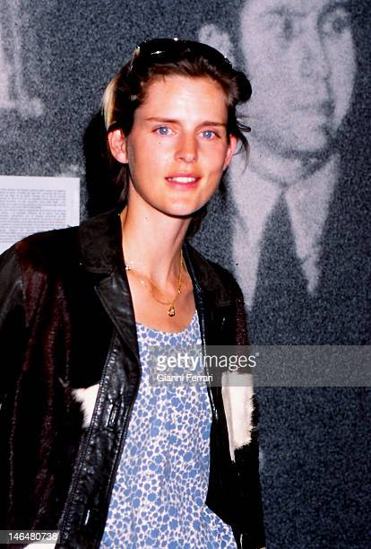 The Scottish supermodel Stella Tennant the best model of the year 2001 and award of 'Vogue Fashion Awards Madrid Spain