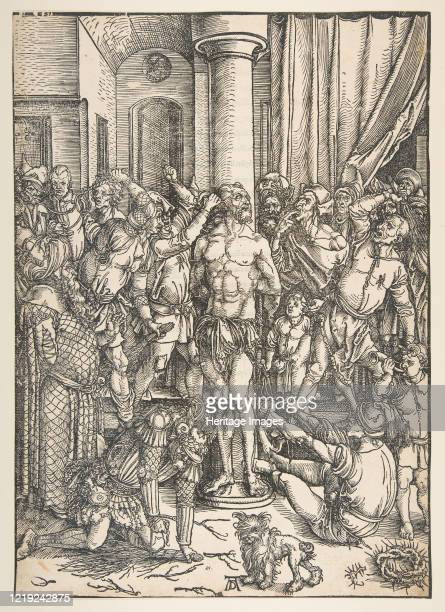The Scourging of Christnd Artist Albrecht Durer