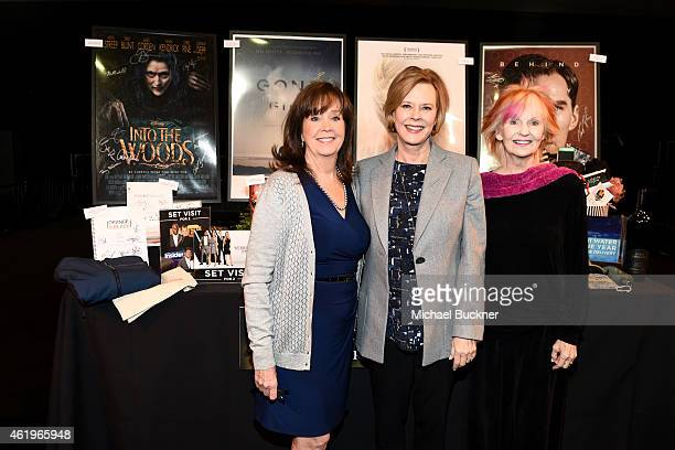 The Screen Actors Guild Foundation Executive Director Cyd Wilson SAG Foundation Board President JoBeth Williams and actress Shelley Fabares attend...