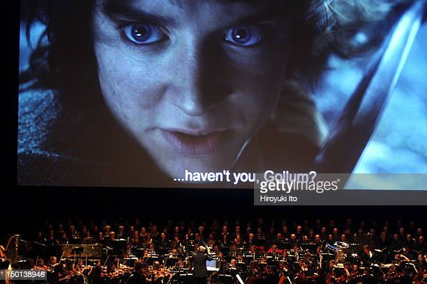 """The screening of """"The Lord of the Rings: The Two Towers"""" with Howard Shore's score performed live at Radio City Music Hall on Friday night, October..."""