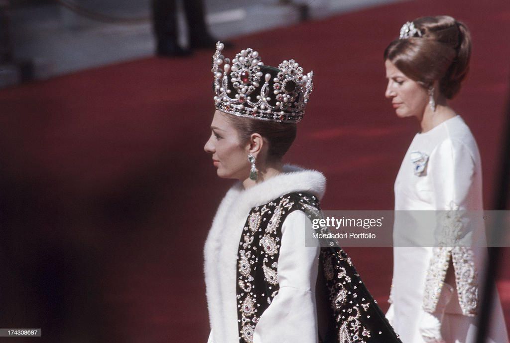 A Moment Of The Coronation Of Empress Farah Phalavi : News Photo