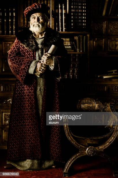 the scribe - 17th century style stock photos and pictures