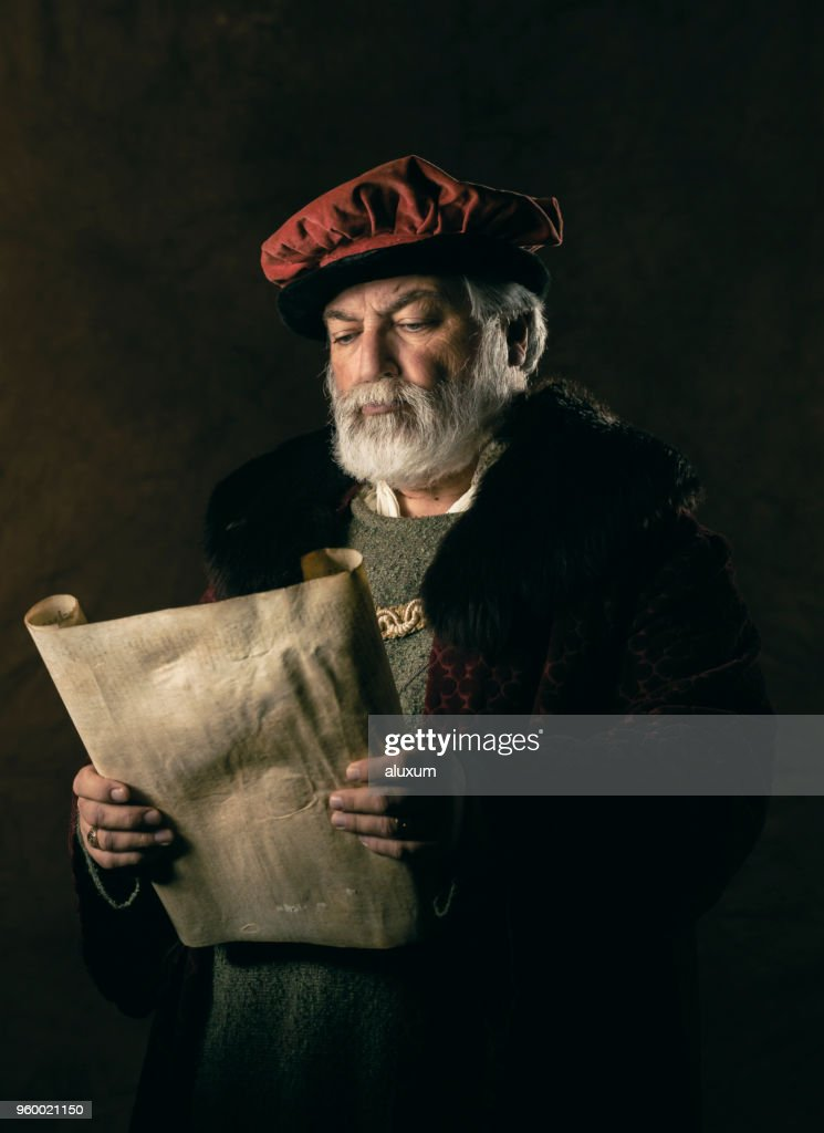 The scribe : Stock Photo