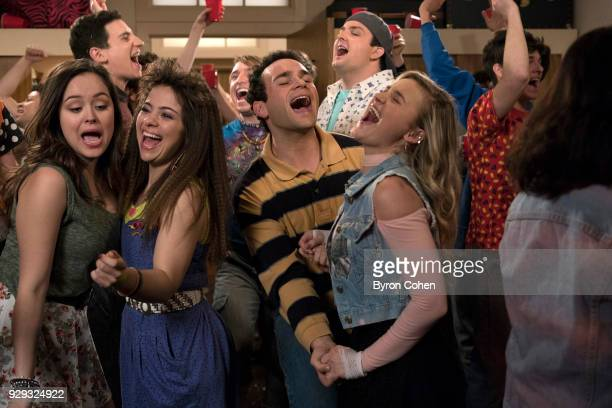 THE GOLDBERGS 'The Scrunchie Rule' When Beverly gets a glimpse into a soontobe empty nest she replaces her kids with the Mellor brothers nursing...