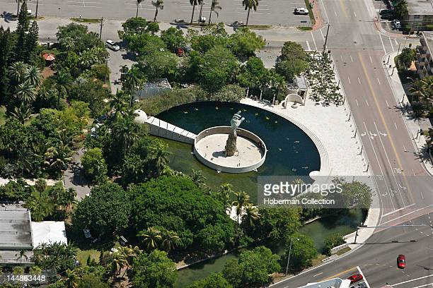The Sculpture of Love and Anguish Holocaust Memorial Miami Beach