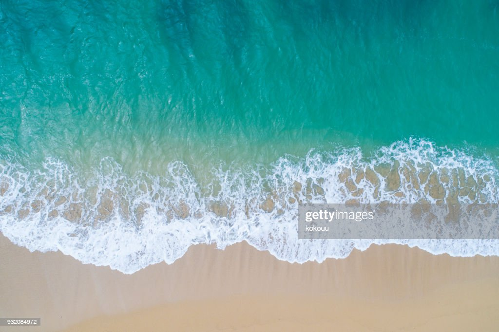 The sea and the island. : Stock Photo