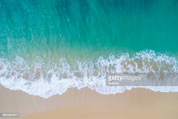 the sea and the island. - beach stock pictures, royalty-free photos & images