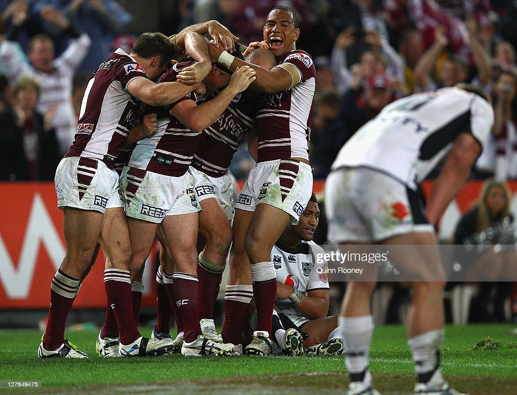 2011 NRL Grand Final - Sea Eagles v Warriors : Fotografia de notícias