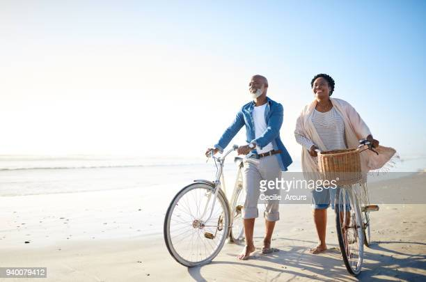 the sea is for seniors too - active senior stock photos and pictures