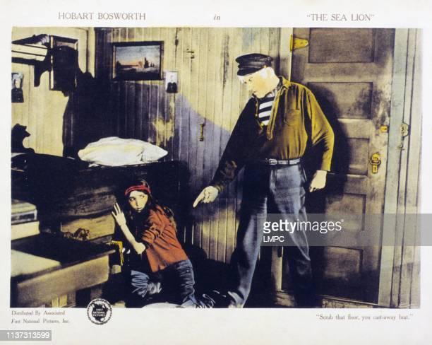 Bessie Love Hobart Bosworth on lobbycard 1921