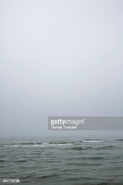 The sea near Lokken on July 05, 2015 in Lokken, Denmark.