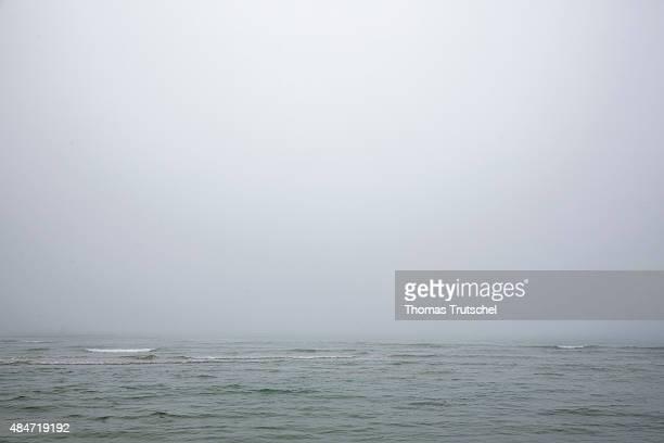 The sea near on July 05, 2015 in Lokken, Denmark.