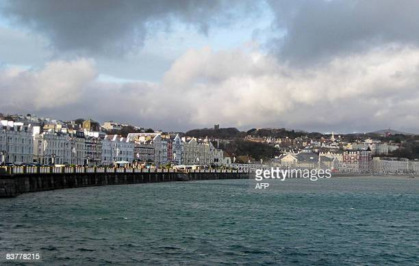 The seafront of Douglas the capital of the Isle of Man is pictured on November 18 2008 The global banking crisis is shining a spotlight on this...