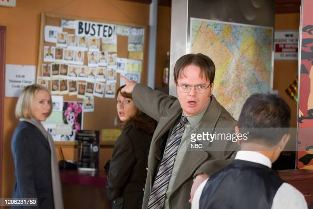 "The Search"" Episode 715 -- Pictured: Rainn Wilson as Dwight Schrute --"