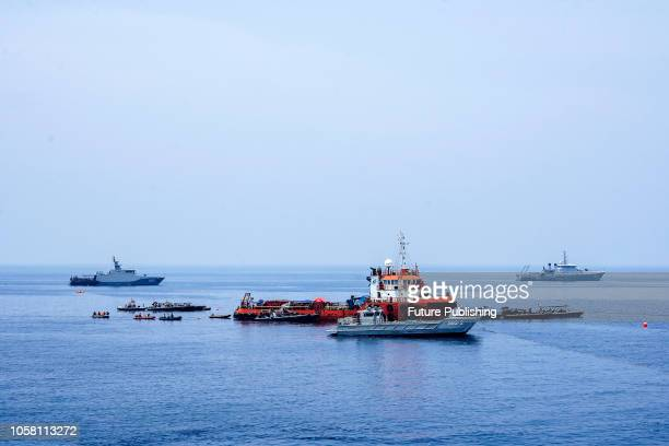 The search for the illfated Lion Air flight JT 610 continues in the Java Sea off the coast of Karawang in West Java on November 6 2018