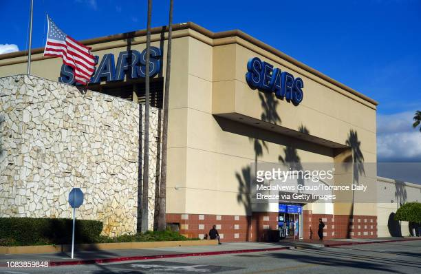 The Sears store at the Del Amo Fashion Center in Torrance on Monday, Dec. 17, 2018. This Sears store has anchored the southern end of this mall since...