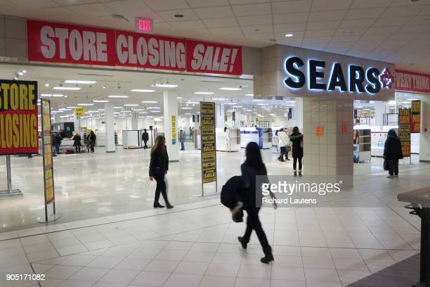 TORONTO ON JANUARY 14 The Sears store at the Promenade Mall is nearly empty and all remaining merchandise is for sale at 95% off prior to the 530pm...