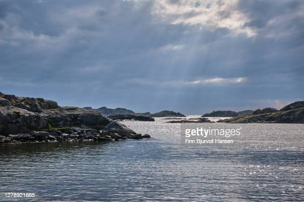 the seashore at karmoy near skudeneshavn in western norway - finn bjurvoll stock pictures, royalty-free photos & images