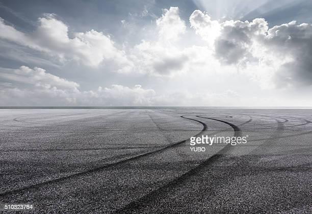 The seaside parking lot