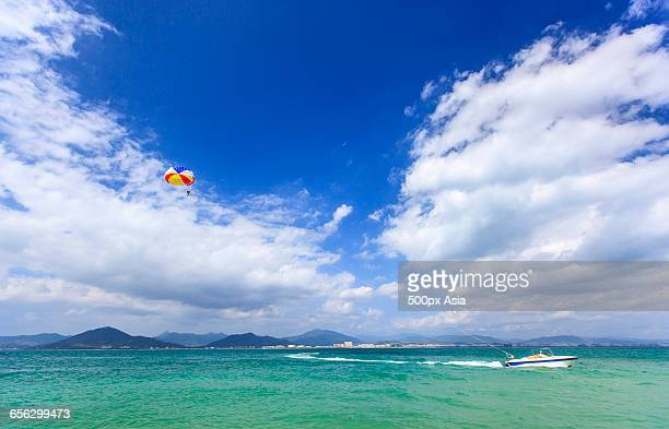 the seaside scenery of sanya - sanya stock pictures, royalty-free photos & images