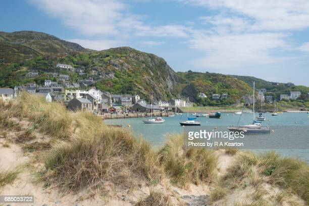 The seaside town of Barmouth, West Wales