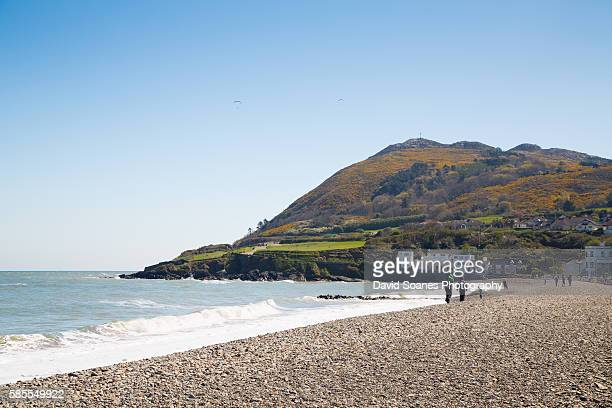 The seaside town of Bray in Co. Wicklow, Ireland