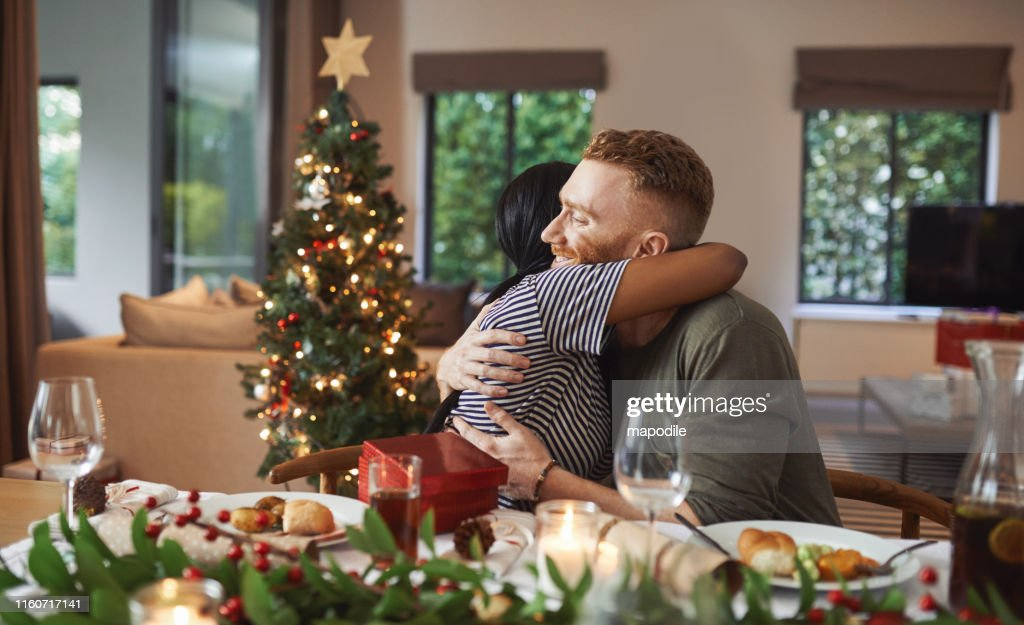 The season for love and togetherness : Stock Photo