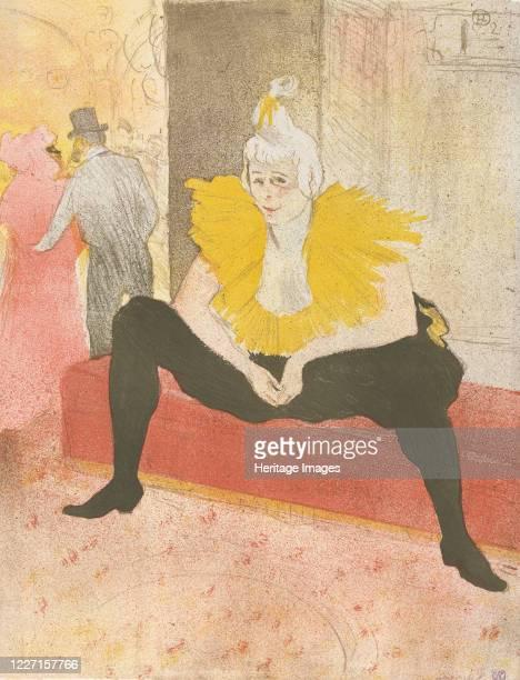 The Seated Clowness 1896 Artist Henri de ToulouseLautrec