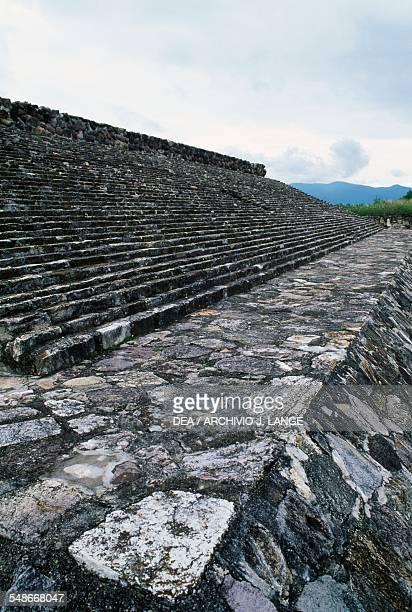 The seatingtiers of the court for Juego de Pelota 10th11th century Dainzu Valley of Oaxaca Mexico Zapotec civilisation 7th century BC16th century