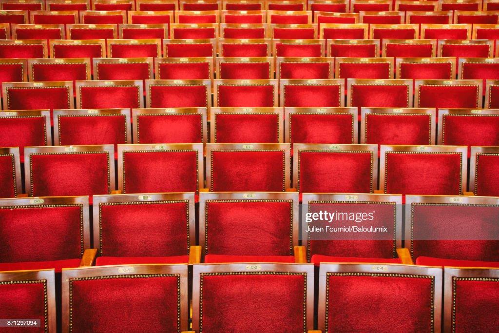 The seats : ストックフォト