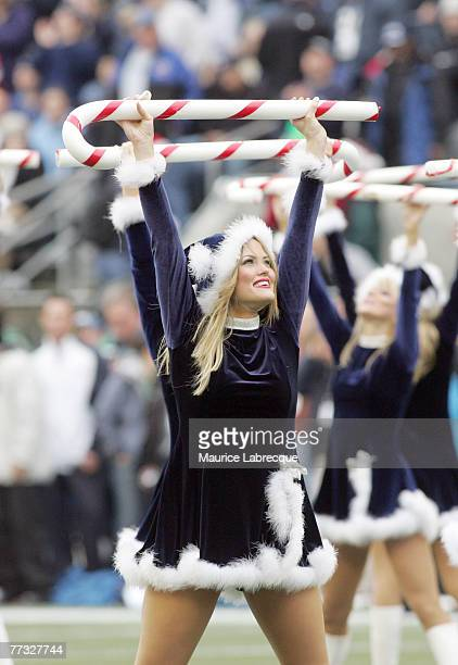 The Seattle Sea Gals perform during the game against the Indianapolis Colts on December 24th 2005 at Qwest Field in Seattle Washington